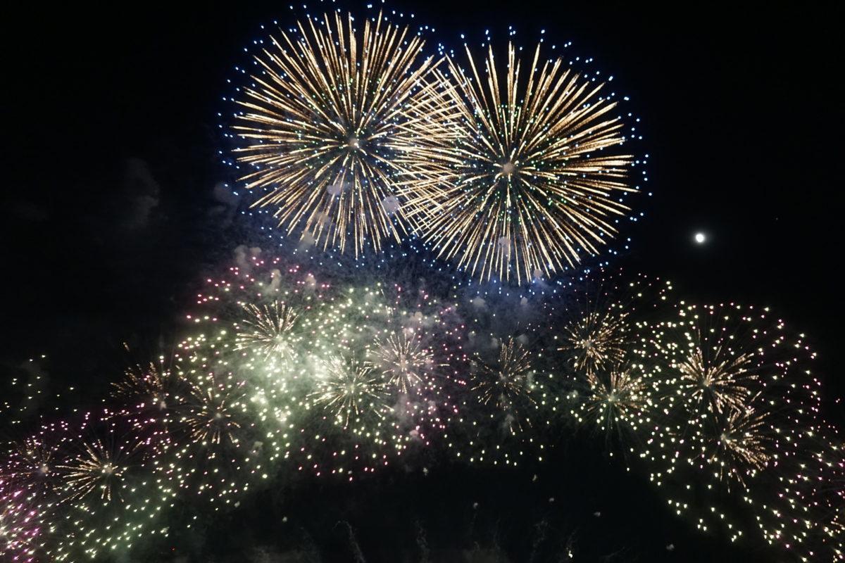 なにわ淀川花火大会を観覧しました!