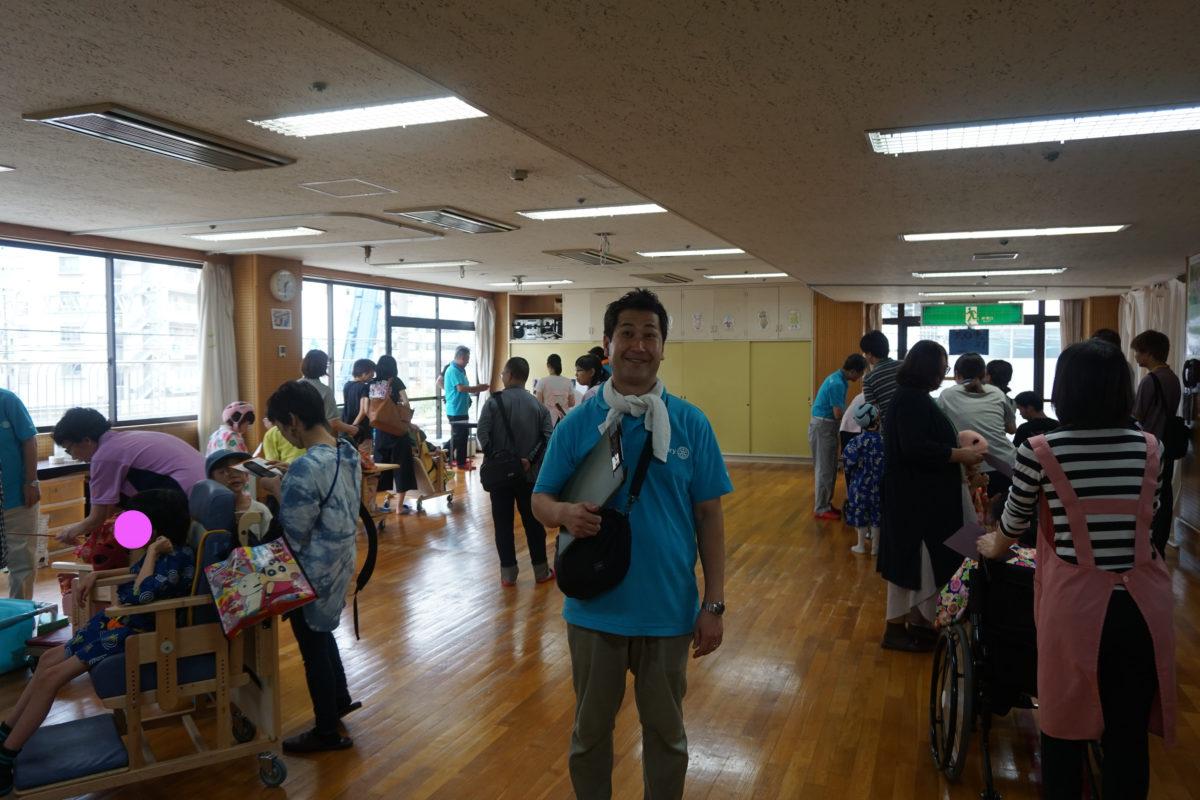 大阪整肢学院夏祭り開催!